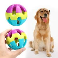 Wholesale 7cm Cat Dog Puppy Jingle Bell Ball Playing Chewing Round Ball Pet Toy