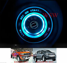 For Ford Ranger T6 Px2 Mk2 WildTrak 2012-2017 Ice Blue LED Ring Start Key Remote
