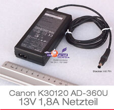 POWER SUPPLY NETZTEIL 13V 1,8A K30120 CANON DRUCKER BJC-30 BJC-50 BJC-70 85 #N43
