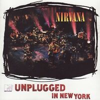 Nirvana ‎CD MTV Unplugged In New York - Germany (M/EX+)