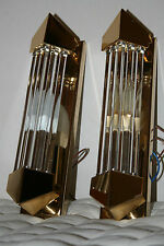 Kolarz Oro Plated ART DECO sconces wall lamp appliques lampada parete dorato