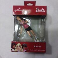 Rare Barbie Christmas Tree Ornament New In Box Hallmark