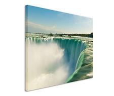 120x80cm Leinwandbild auf Keilrahmen Niagarafälle Natur