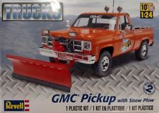 Revell 85-7222 GMC Pickup w/ Snow Plow 1/24 Scale Plastic Model Truck Kit