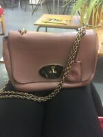 Mulberry Lily Bag in a dusty blush pink colour, Good condition . 100% Genuine .