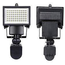 2x 60 LED Solarlampe Solarleuchte Außen Solarstrahler Bewegungsmelder Leuchte|4S