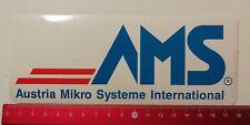 Aufkleber/Sticker: AMS Austria Mikro Systeme International (0104173)