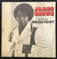 JAMES BROWN Get On The Good Foot Album LP 1972 Polydor 1st Press PD2-3004 - EX