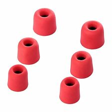 6 Pairs of Noise Reduction Foam+ Silicone In-Ear Buds Earphone Earplugs Reusable