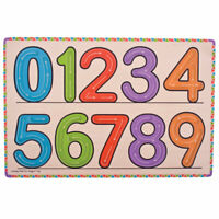 Bigjigs Toys Educational Wooden Learn to Write Number Board Math Writing