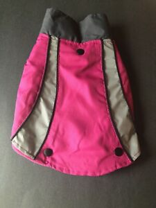 Top Paw 2-in-1 Pink Reflective Pet Coat for a small dog