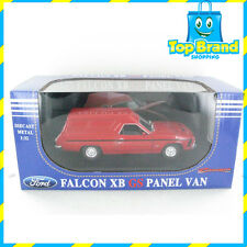 Ford XB GS PANEL VAN 1:32 SCALE OZLEGENDS - OPENING DOORS AND BONNET RED PEPPER
