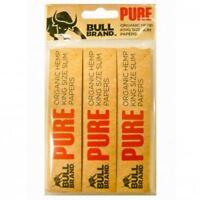 Bullbrand Papier à Rouler King Taille Biologique Emballage Blister X 1