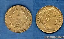 III République, 1871-1940 - ESSAI ???  2 Francs 1907 Inconnu ???