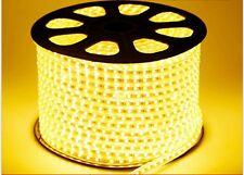 BOMBILLA TIRA DE LED LUZ CALIDO 220V SMD2835 IMPERMEABLE IP65 13MM 230V 240V
