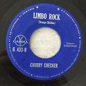 CHUBBY CHECKER: Popeye / Limbo Rock (MEX Single Parkway G 433 A/B / Mono)