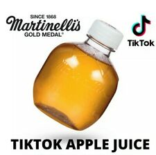 (1) Bottle Of Martinelli's Organic Apple Juice TIKTOK Viral Sound Drink Sealed