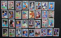 1992 Topps Micro Mini Toronto Blue Jays Team Set of 33 Baseball Cards