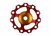 1 Set Bike Bicycle Alloy Rear Derailleur Pulley 11T Red