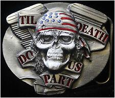Til Death Do Us Part Belt Buckle