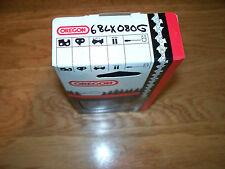 """1 Oregon 68LX080G 25""""  404 .063 80 DL Full Chisel saw chain fits  051 076 075"""