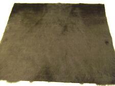 """Quality Dark Brown Fur Fabric 18"""" X 20""""  46cm x 51cm"""