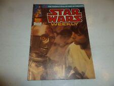 Star Wars Weekly Comic - No 101 - Date 30/01/1980 - UK Marvel Comic