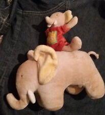 Peluche doudou musical MOULIN ROTY éléphant en TBE