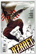 AZRAEL #1, #2, #3, #4 - JOCK COVERS - RAMON BACHS ART - 2009