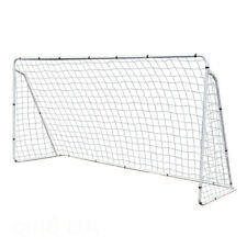 12 x 6' Portable Soccer Goal Net Steel Post Frame Backyard For Football Training