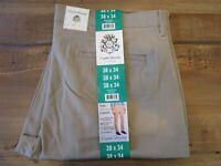 English Laundry Men's The Bryant Chino Khaki Pants Size 38 x 34