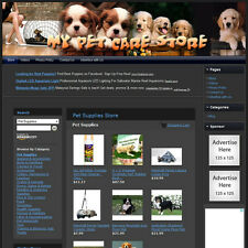 PET SUPPLIES STORE - Ready to Go Online Business - Outstanding Income Potential!