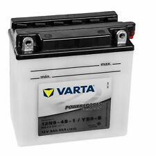 Varta Powersports Motorrad Batterie 50914 12N9-4B-1 YB9-B 509014008A514 12V 9Ah