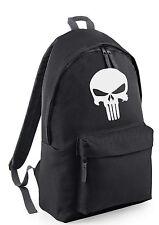 Punisher comic marvel Backpack Rucksack School College Travel Work Bag canvas