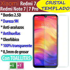 Protector De Pantalla Para XIAOMI Redmi 7 / Note 7 / Pro / 7A Cristal Templado