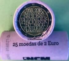 Portugal 2 Euro Rolle 2018 INCM Prägeanstalt mit 25 x 2 Euro Gedenkmünzen roll