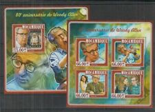 R436. Mozambique - MNH - Famous People - Woody Allen - 2015