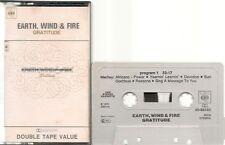 K7 AUDIO / TAPE--EARTH WIND & FIRE--GRATITUDE--1975