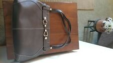 Authentic Kate spade handbag used large Brown tote shoulder bag