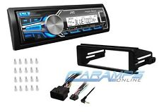 JVC WEATHERPROOF BLUETOOTH STEREO RADIO W/ INSTALL KIT FOR HARLEY DAVIDSON