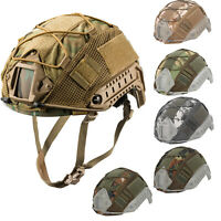Tactical Helmet Cover for FAST PJ Helmet Camo Hunting Airsoft Headwear Gear CS