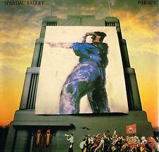 """SPANDAU BALLET Parade 12"""" LP Printed Inner GATEFOLD Chrysalis CDL 1473 A//2 B//1"""