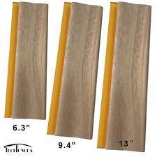 """3 pcs Silk Screen Printing Squeegee Ink Scraper 9.4""""/13""""/18"""" Scratch Board"""