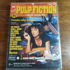 Pulp Fiction DVD Special Collector's Edition R4 LIKE NEW FREE POST