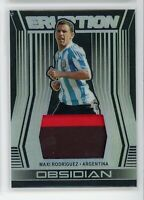 2019-20 Maxi Rodriguez 17/199 Patch JERSEY Panini Obsidian Eruption