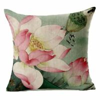 18 inch flax Dream Catcher Printed Decorative Sofa Throw Cushion Cover Home I2I8