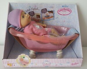 MY FIRST BABY ANNABELL DOLL BATHING BATH TIME DOLL BRAND NEW ZAPF TOY GIRL GIFT