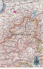Cartina Del Trentino Alto Adige.Cartina Geografica In Vendita Trentino Alto Adige Ebay