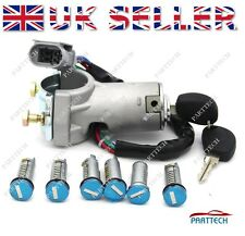 IVECO DAILY 2000-2006 Ignition Switch Lock Barrel and Door LockSet SET 7 pcs