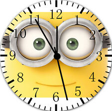 Cute Minions Frameless Borderless Wall Clock For Gifts or Home Decor E53
